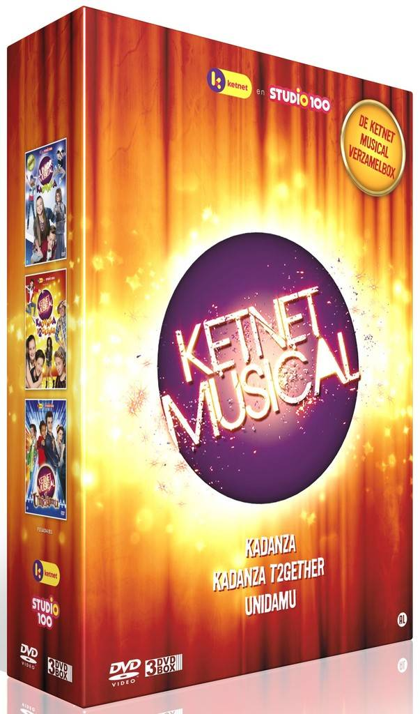 Studio 100 3-DVD box - Ketnet musicals vol. 1