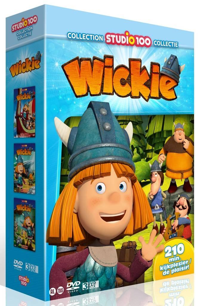 Dvd box Wickie: Wickie vol. 1