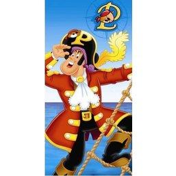 Pat le Pirate Serviette de bain - 75x110 cm