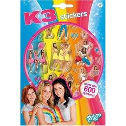Stickerboekje K3 ToTum: 600+ stickers