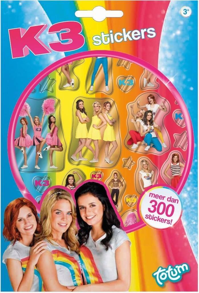 Stickerboekje K3 ToTum: 300+ stickers