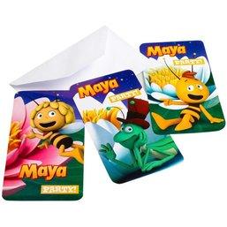 Maya de Bij Uitnodigingen 6 stuks