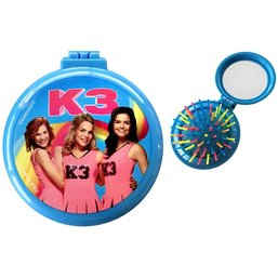 K3 Haarborstel met spiegeltje