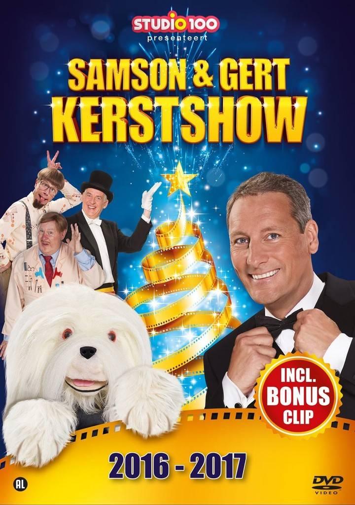 Dvd Samson & Gert: kerstshow 2016/2017