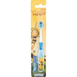 Tandenborstel Maya blauw: 1-5 jaar