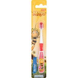 Tandenborstel Maya rood: 1-5 jaar