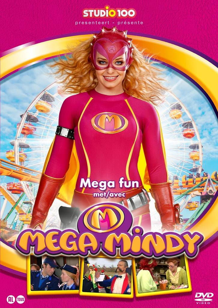 Dvd Mega Mindy: mega fun met Mega Mindy
