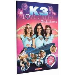 Stickerboek K3: Love Cruise