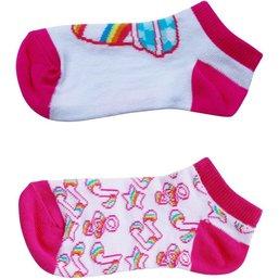 K3 Sokken 2-pack roze