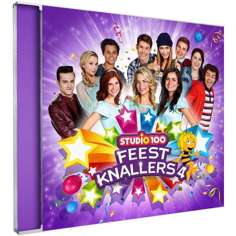 Cd Studio 100: feestknallers vol. 4