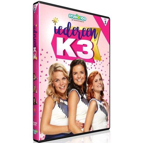 Dvd K3: iedereen K3 vol. 3