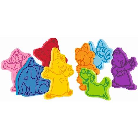 Bumba figurines pour le bain - 8 pièces