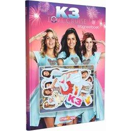 K3 Magneetboek - Love Cruise