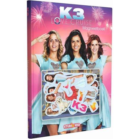 Magneetboek K3: Love Cruise