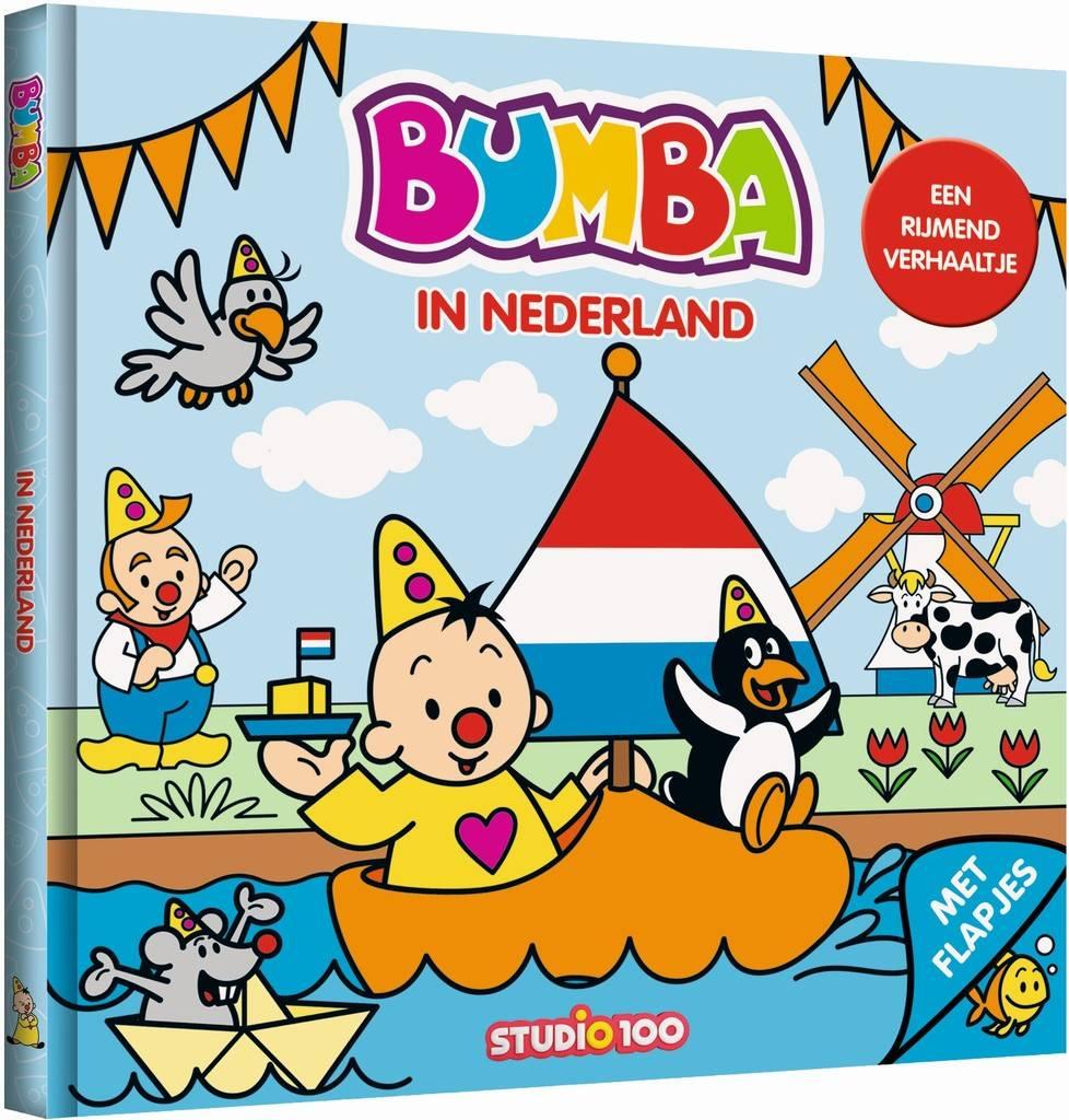 Bumba Boek flapjes - In Nederland