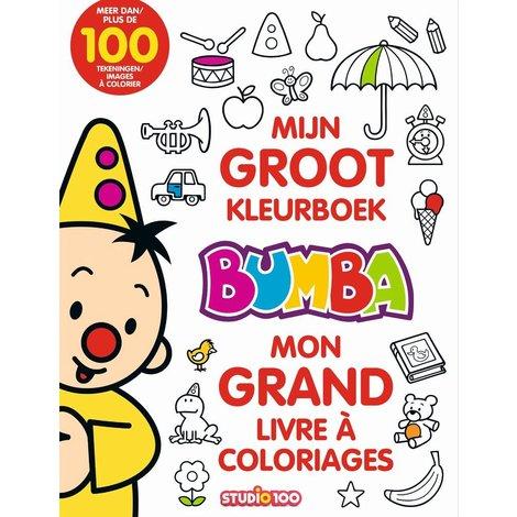 Kleurboek Bumba: Groot kleurboek