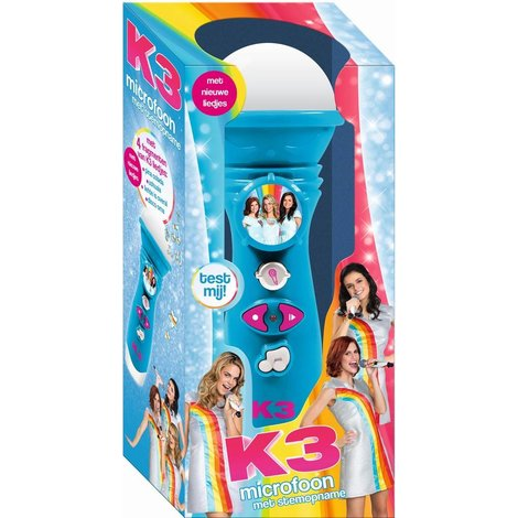 Microfoon K3 met stemopname: Pina Colada