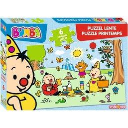 Bumba Puzzel - Lente 12 stukjes