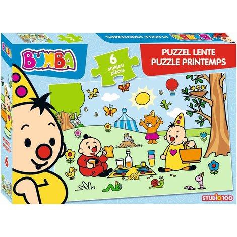 Bumba Puzzel - Lente 6 stukjes