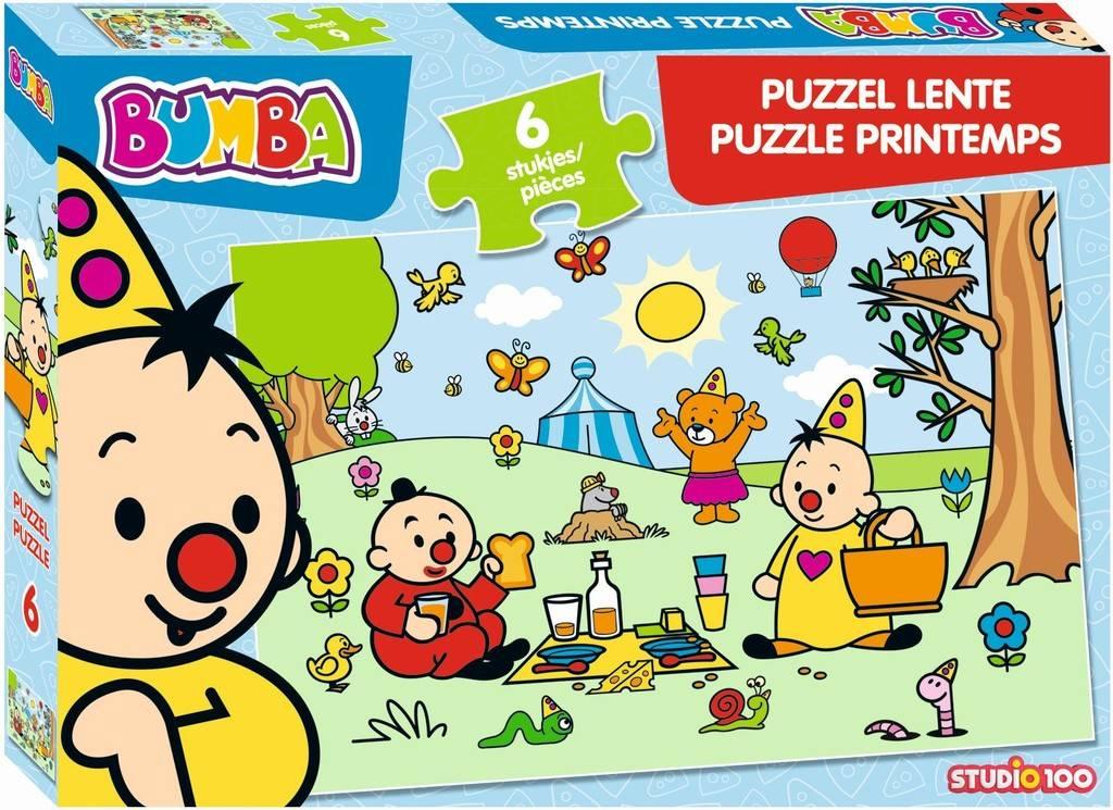Puzzel Bumba lente: 12 stukjes