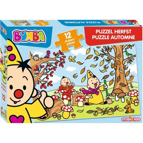 Bumba Puzzel - Herfst 12 stukjes