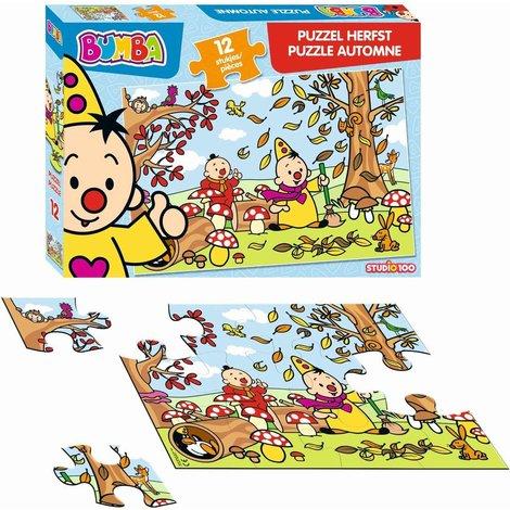 Bumba Puzzle - automne 12 pièces