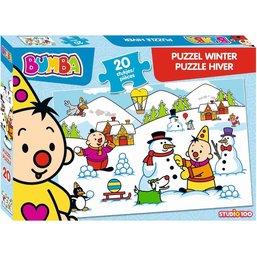 Bumba Puzzel - Winter 9 stukjes