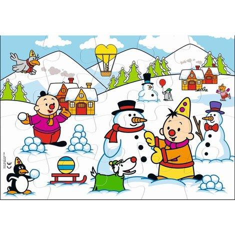 Puzzle Bumba - hiver, 20 pièces