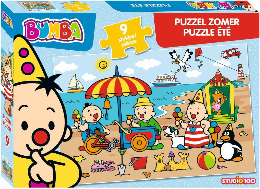 Bumba Puzzle - été 9 pièces