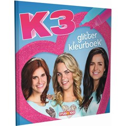 K3 Livre à colorier - Scintiller