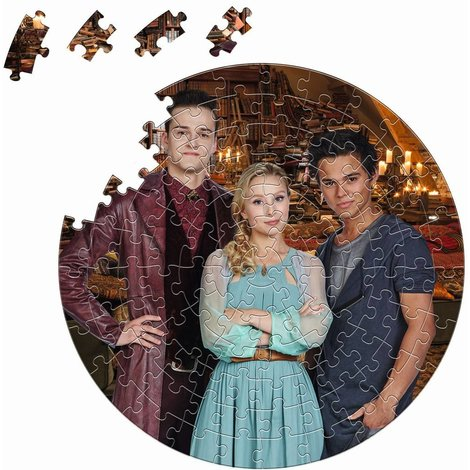 Garde de Nuit Puzzle ronde - 100 pièces