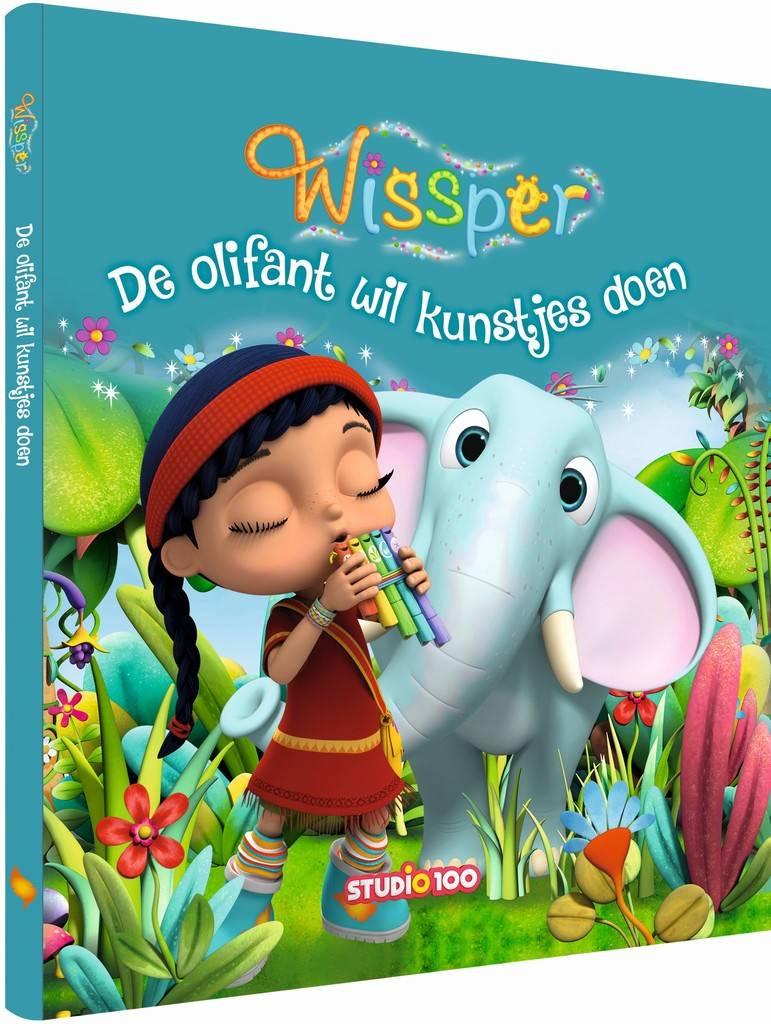 Wissper Boek - Olifant wil kunstjes doen