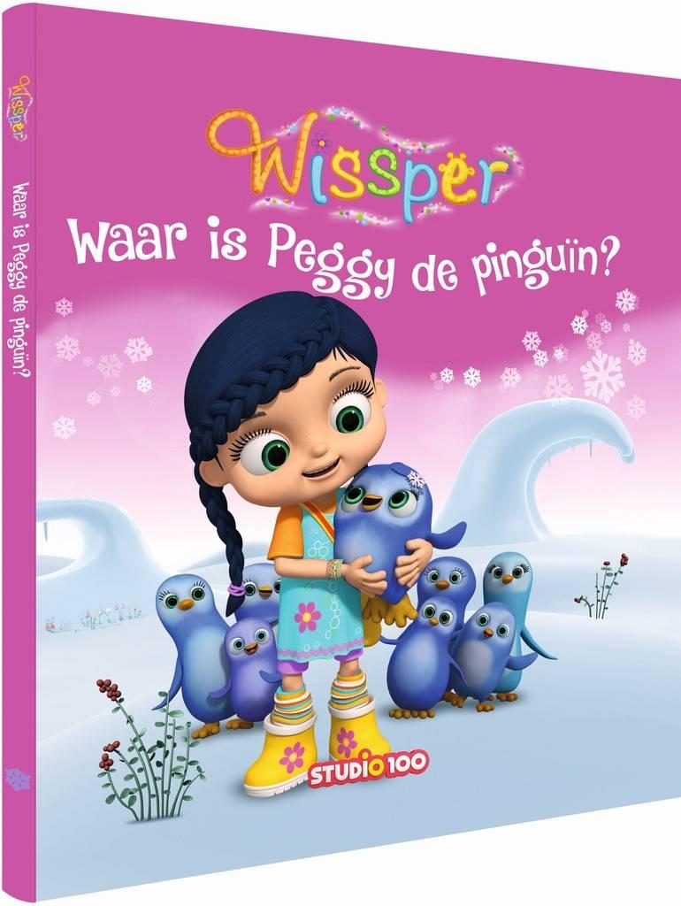 Boek Wissper: Waar is Peggy Pinguin