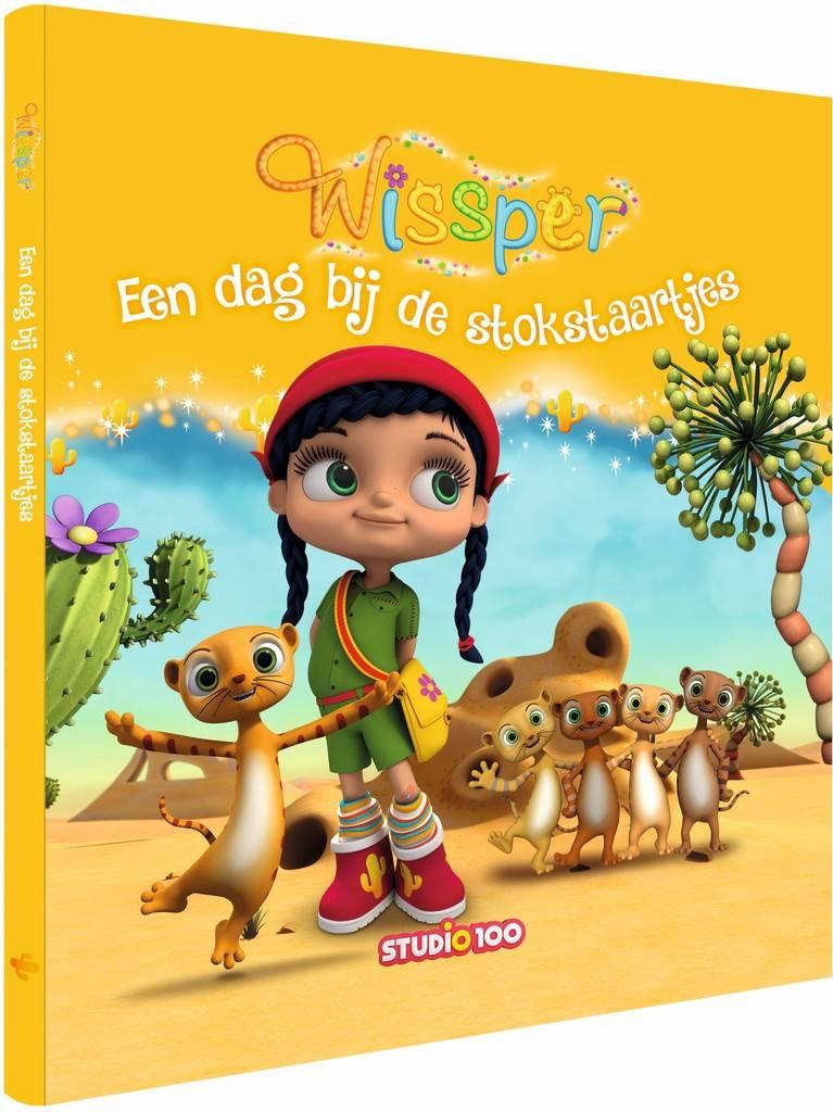 Boek Wissper: Dag bij de stokstaartjes