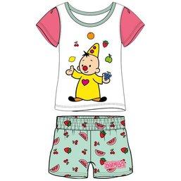 Bumba - Pyjama d'été motifs fruits - Rose/blanc