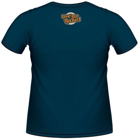 T-shirt Ghostrockers bleu