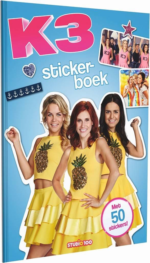 K3 Stickerboek - Pina Colada