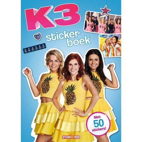 Stickerboek K3: pina colada