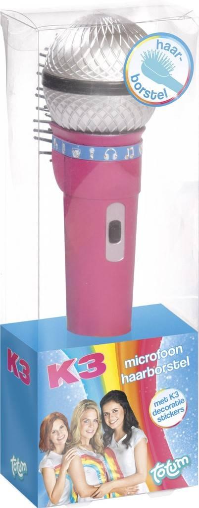 Haarborstel microfoon K3 ToTum