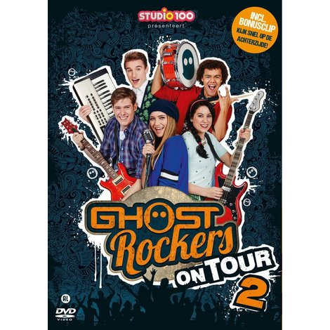 Dvd Ghost Rockers: on tour vol. 2