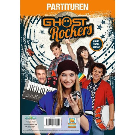 K3 en Ghostrockers Partiturenboek