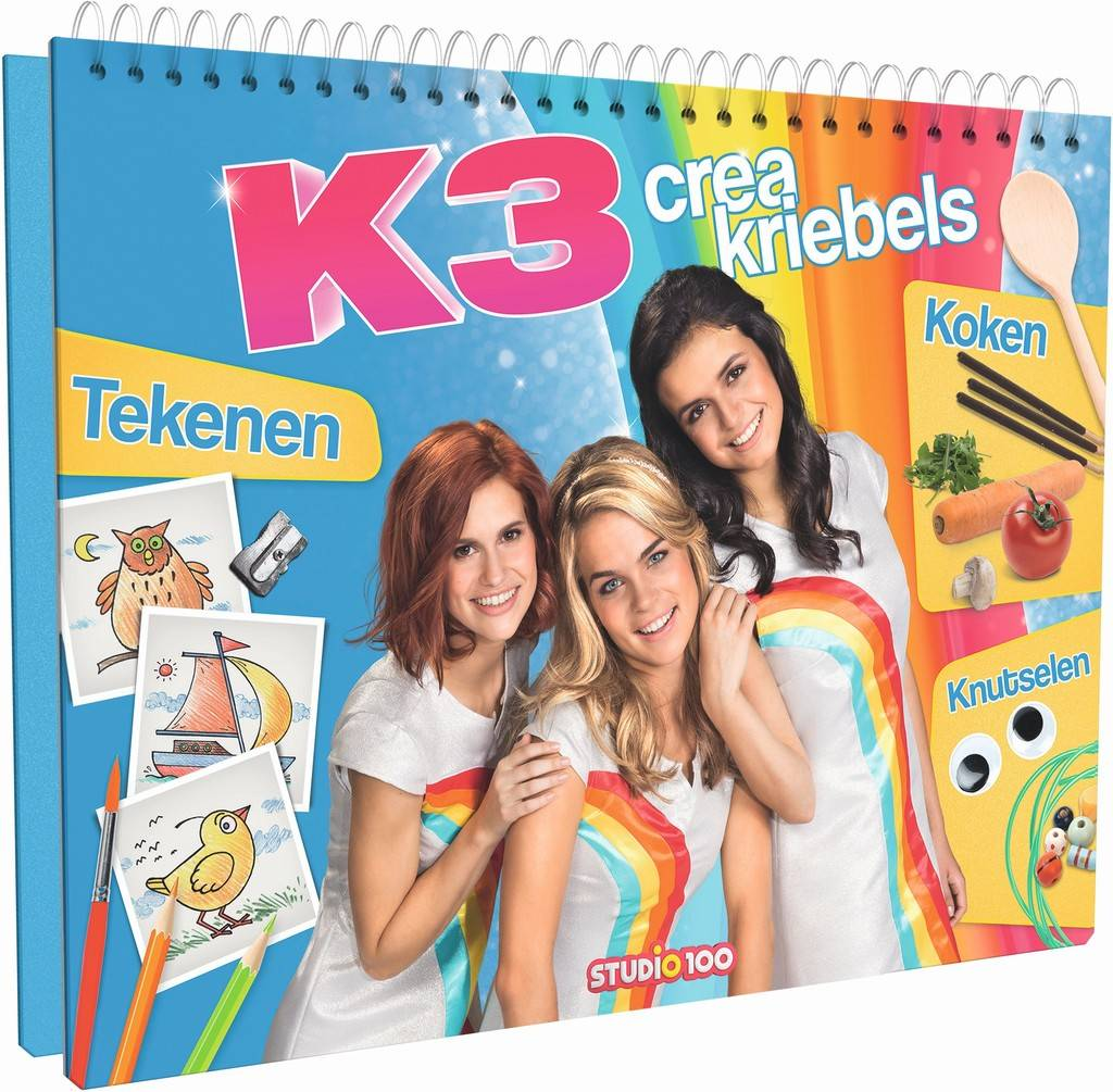 K3 Boek - Creakriebels