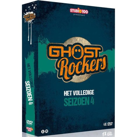 Ghost Rockers 4-DVD box - Seizoen 4