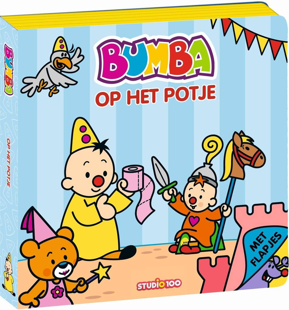 Bumba Boek foam - Op het potje - Studio 100 Webshop