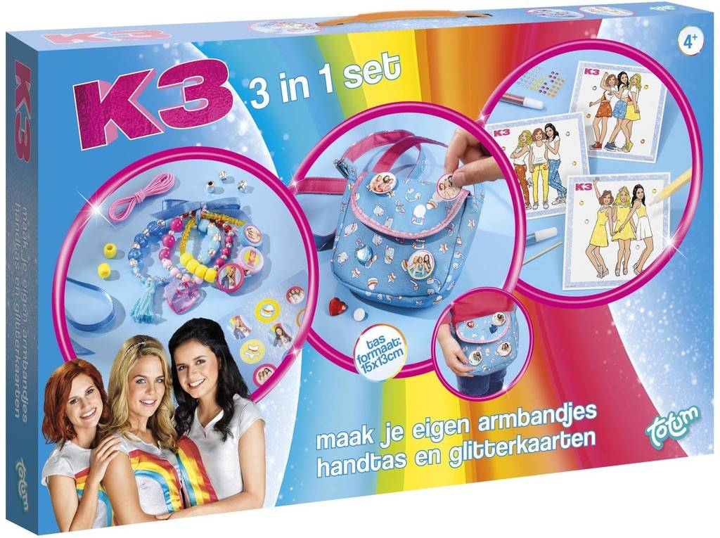 K3 Creativity Set 3 in 1