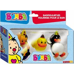 3 figurines pour le bain Bumba