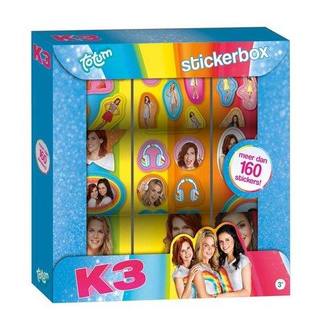 Sticker box K3 ToTum: 200+ stickers