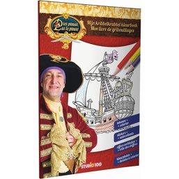 Pat le Pirate Mon livre de gribouillages
