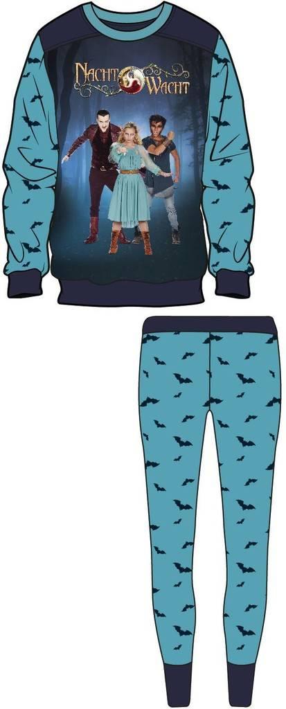 Nachtwacht Pyjama - Licht Blauw