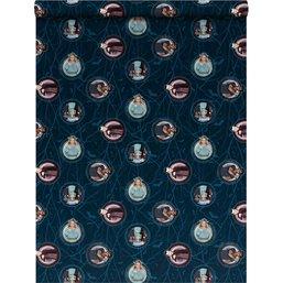Kaftpapier Nachtwacht: 2 x vel 100x70 cm